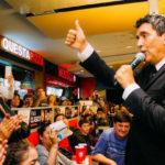 Miguel Ángel Cherutti en el Aniversario de Shopping Paseo del Fuego, Ushuaia