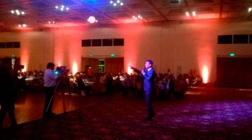 Miguel Ángel Cherutti en cena de fin de año de Consejo de Ciencias Económicas, Salta