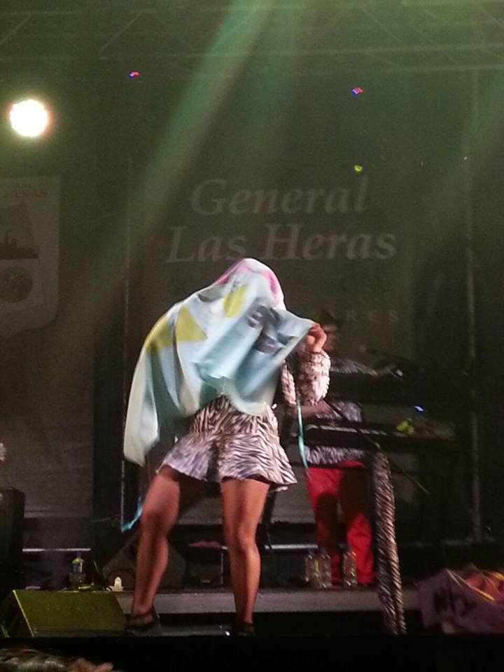 Miranda en el 150º Aniversario de Gral. Las Heras, Mendoza
