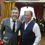 Alejandro Gardinetti en cumpleaños de 50