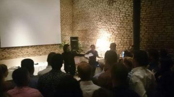 Pablo Granados fin de año de Agrupación Sumate al Cambio, Palermo