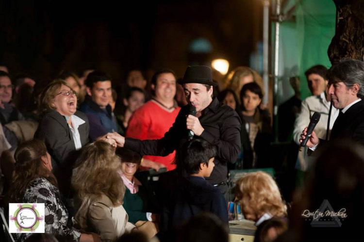 """Pablo Granados y Pachu Peña en el desfile """"Viste Corrientes"""""""