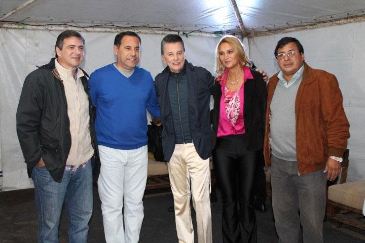 Mega recital de Palito Ortega en Tafí del Valle