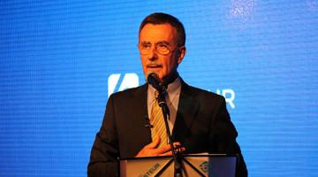 Pancho Ibáñez en los 40 años de la Obra Social Luis Pasteur