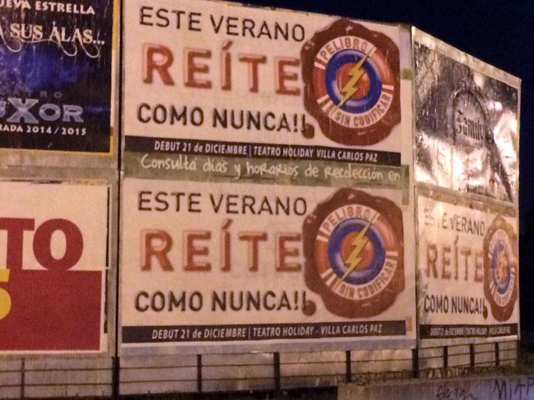 Carlos Paz palpita la obra de Peligro Sin Codificar!