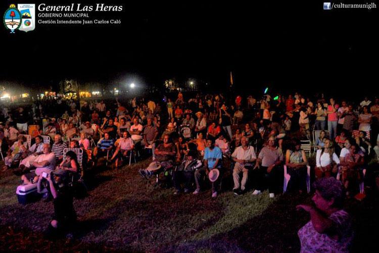 Peteco Carabajal en la Fiesta Nacional de las Tropillas Entabladas, Mendoza