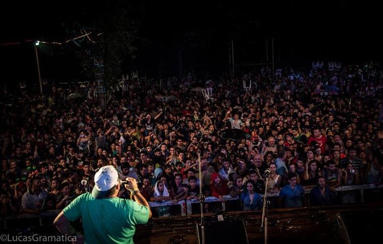 Pichu Straneo en los Carnavales de Río 2014 Santa Rosa de Calamuchita