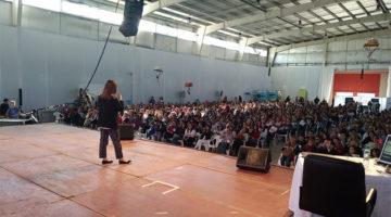 Pilar Sordo en el 16º Congreso Regional de Educación, Córdoba