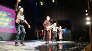 Cumbia Papal, Gaucho Alemán, Rebo Mago y Nazareno Móttola en festival BA a Reír