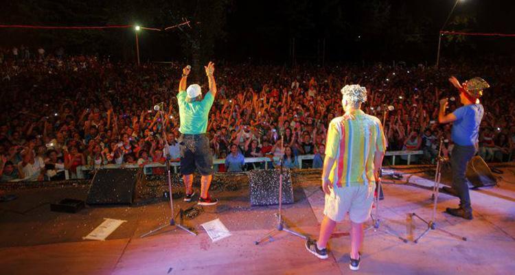 Los Rebos en los Carnavales de Río 2014 Santa Rosa de Calamuchita