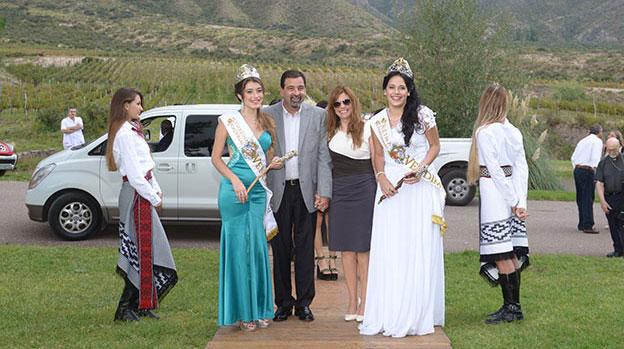 Reinas de la Vendimia Solidaria de Mendoza