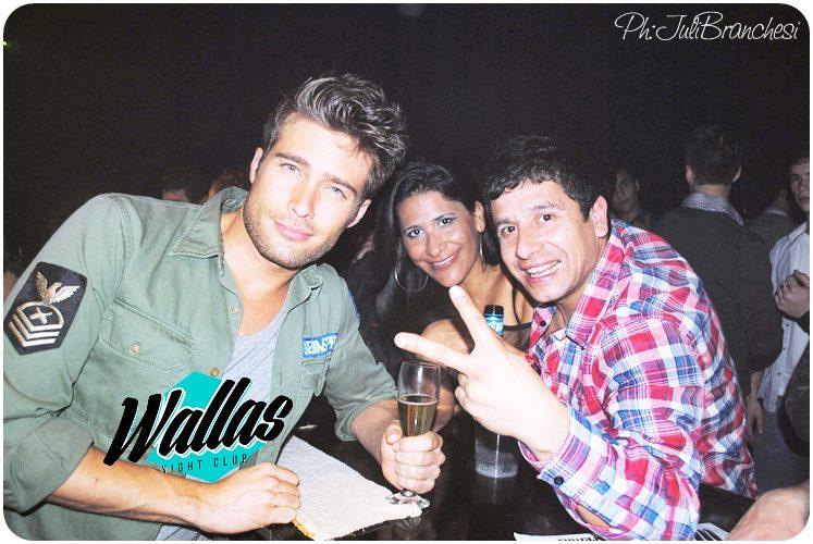 Rodrigo Guirao Diaz en Wallas Disco, Santa Fe