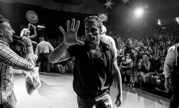 Rodrigo Guirao en El Bosque por el Día de la Mujer