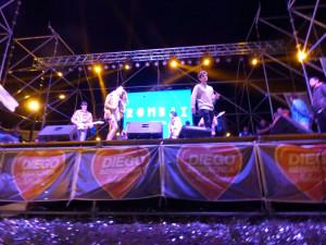 Rombai en los festejos por el mes de los Jóvenes, Chaco