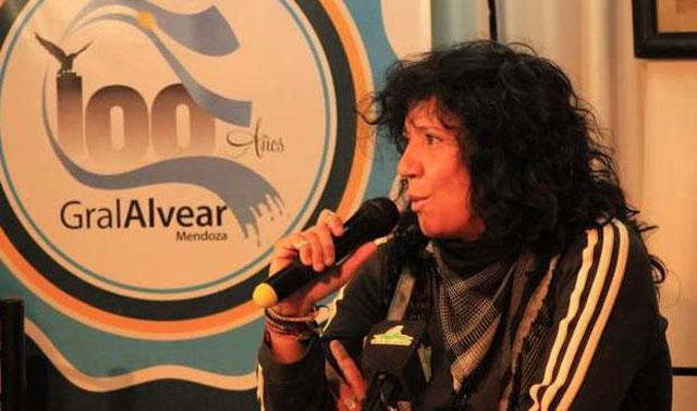Rosana en el Centenario de General Alvear, Mendoza