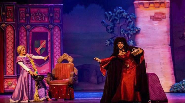show de rapunzel contrataciones