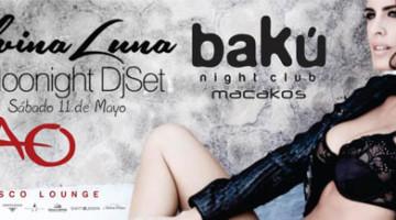 Silvina Luna Dj Set en Baku / TAO Lounge