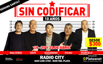 Sin Codificar is Back - Villa Carlos Paz 2019