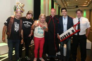 Puntos Cardenales, Los Rebos, y Gaucho Alemán en el Aniversario SUTPA