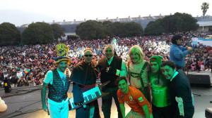 Los Rebos, Gaucho Alemán y Los Puntos Cardenales en el Día del niño UOCRA, La Plata