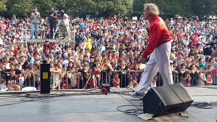 Carlitos Balá en el Día del niño UOCRA, La Plata