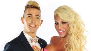 Vicky Xipolitakis y Cristian Falcon Bailando por un sueño 2014
