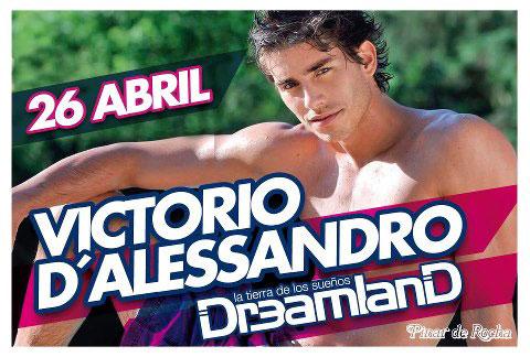 Victorio D'Alessandro en Dreamland [Abril 2013]