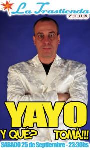 Yayo en La Trastienda