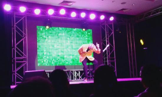 Show de Yayo en Paraguay 2014