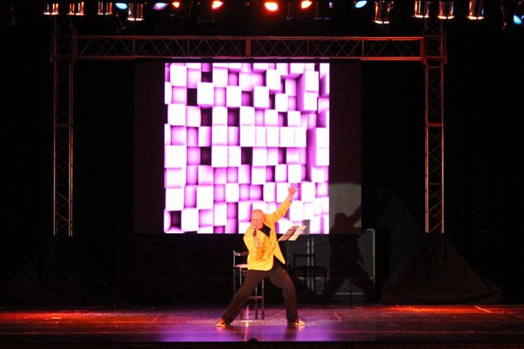 Yayo en el Teatro Sarmiento, San Juan