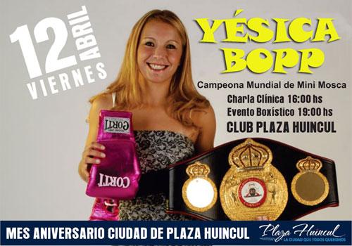 Yesica Bopp - Clinica de Box en Plaza Huincul