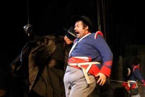Zorro, la Venganza de Monasterio